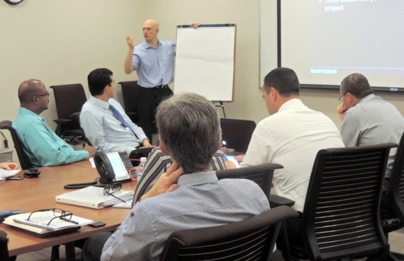 The Civil Service Prepares for Project Future - Chief Officer Project Management Training 2014